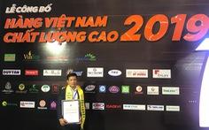 Wincofood nhận danh hiệu Hàng Việt Nam Chất Lượng Cao 2019