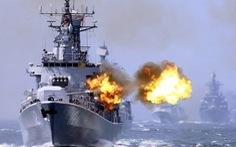 Trung Quốc tập trận phòng chiến tranh ở Biển Đông