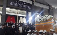Tiễn đưa Phó chủ tịch UBND TP.HCM Nguyễn Thị Thu