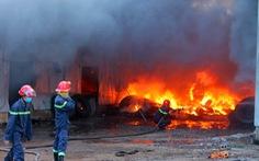 Đồng Nai: cháy lớn tại xưởng sản xuất lốp ôtô