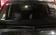 Tạm giữ ba thiếu niên ném đá vào ôtô trên cao tốc