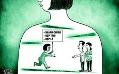 Con bị cô giáo đánh, đòi bồi thường 100 triệu đồng: Ứng xử sao cho hợp lý?
