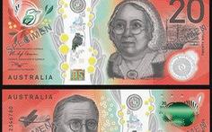 Ra mắt mẫu tiền 20 AUD mới của Úc
