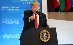 Ông Trump ca ngợi chiến thắng của Mỹ và đồng minh trước IS