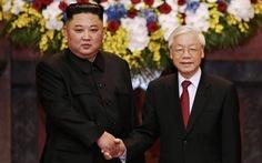 Tổng bí thư, Chủ tịch nước Nguyễn Phú Trọng hội đàm với Chủ tịch Kim Jong Un