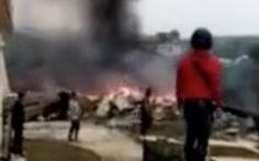 Máy bay hải quân Trung Quốc rơi, 2 phi công tử nạn