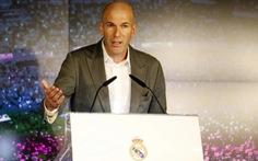 HLV Zidane: 'Chủ tịch Perez gọi và tôi đồng ý vì yêu đội bóng Real Madrid'