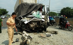Bình Phước: Tai nạn giao thông, 2 thanh niên chết, 1 tài xế bị thương nặng
