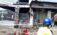 Cháy kiôt sửa điện tử, 3 người trong một gia đình tử vong