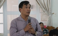Một chủ tịch xã 'lộng hành' ở Bắc Vân Phong