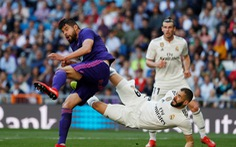 Xà ngang + VAR không cản nổi HLV Zidane