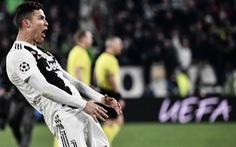 Ronaldo có thể bị cấm đá tứ kết Champions League vì ăn mừng quá trớn