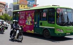 TP.HCM quảng cáo trên xe buýt: kiếm tiền tỉ còn... ì ạch