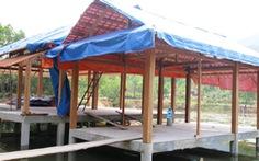 Chủ đầu tư tự tháo dỡ khu nghỉ dưỡng 'chui' trong rừng phòng hộ
