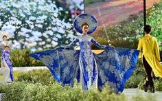Áo dài lộng lẫy đêm xuân khai mạc Lễ hội Áo dài