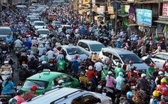 Năm 2030, hạn chế xe máy ở 4 quận và 2 khu đô thị bậc nhất ở TP.HCM?