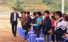 EVN tài trợ 29 tỉ đồng xây dựng lại cụm trường học tại xã Nặm Păm