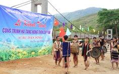 Khánh thành cầu treo cho người dân Gia Lai
