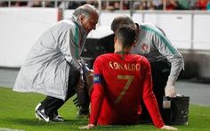 Ronaldo chấn thương, Bồ Đào Nha bị Serbia cầm chân