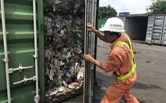 Hãng tàu không được chia nhỏ lô rác thải khi tái xuất