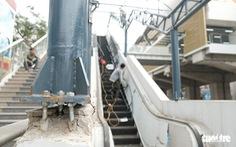Vì sao nhà ga đường sắt Cát Linh - Hà Đông có vết nứt, vỡ?