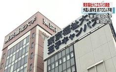 Nhật bắt đầu điều tra vụ 700 sinh viên nước ngoài 'mất tích'
