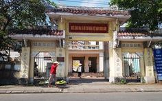 Nơi cụ Phan Bội Châu từng đứng diễn thuyết đang bị tháo dỡ
