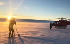 Có hồ nước bí ẩn bên dưới mảng băng khổng lồ Nam Cực?