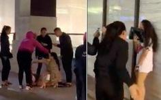 Xác định 4 người đánh ghen, lột đồ cô gái trẻ giữa phố Hà Nội