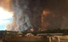 Cháy kinh hoàng ở Úc