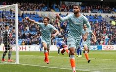 Sáu phút bùng nổ, Chelsea ngược dòng đá bại Cardiff