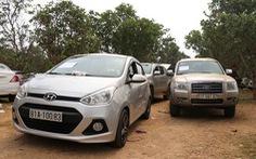 Đột kích ổ bạc trong núi, thu giữ hơn 60 ôtô của 130 con bạc