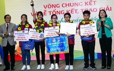 Học sinh mong thành công an chống ma túy đoạt giải nhất 'Chắp cánh ước mơ'