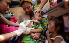 Gần 15.000 người đã nhiễm sởi ở Philippines và 'vẫn đang tăng'