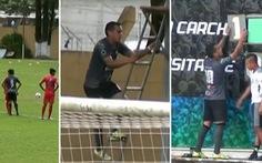 Video pha mừng bàn thắng 'có một không hai' ở Guatemala