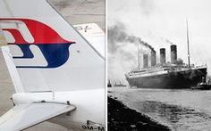 Thuyết âm mưu nói MH370 biến mất giống vụ tàu Titanic chìm