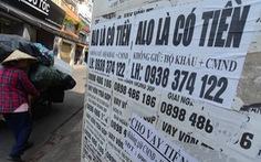 Bộ Công an cảnh báo nạn 'tín dụng đen' với lãi suất 1.600%/năm