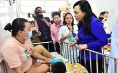 Hơn 139.000 trẻ ở TP.HCM không tiêm vacxin sởi - rubella