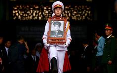 Tiễn đưa Trung tướng Đồng Sỹ Nguyên về đất mẹ