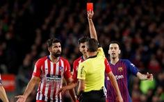 Xúc phạm mẹ trọng tài, Costa bị treo giò 8 trận