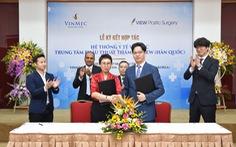 Vinmec hợp tác với thương hiệu thẩm mỹ Hàn Quốc