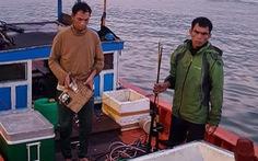 Bắt quả tang 6 tàu cá đánh bắt bằng kích điện trên vùng biển Sơn Trà