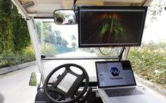 Khu đô thị đầu tiên của Việt Nam thử nghiệm xe tự lái