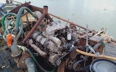 Bắt giữ hai tàu 'cát tặc' trên sông Đồng Nai