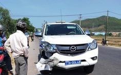 Xe cảnh sát giao thông va chạm xe máy, 1 người tử vong