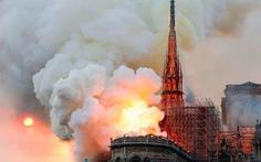 Cháy Nhà thờ Đức Bà Paris: dân Pháp buồn và sốc nhưng không ai chửi bới