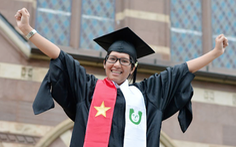 Nữ sinh điếc người Việt được gọi là 'siêu sao'