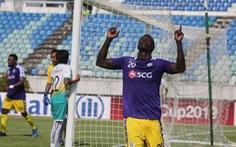 Omar Faye lập hat-trick, Hà Nội đè bẹp Yangon United tại AFC Cup