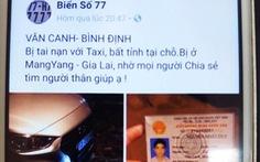 Giả vờ tai nạn giao thông, chụp ảnh đăng Facebook câu like