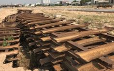 Đề nghị lắp lại đường sắt đã tháo tại dự án nhà thương mại